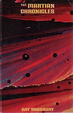 "Vintage Ray Bradbury Book Covers - ""The Martian Chronicles"""