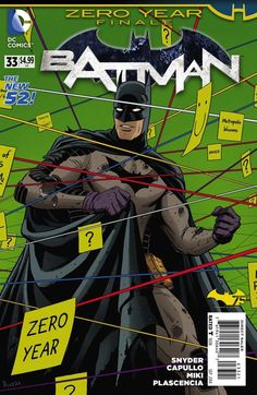 Batman #33 by Paolo Rivera *