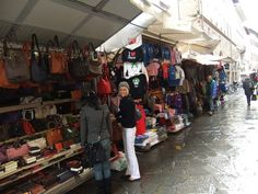 Leather Market in Florence!!  It's not all about the churches!!