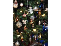 Vánoční ozdoba Koule. Skleněná ozdoba na stromeček