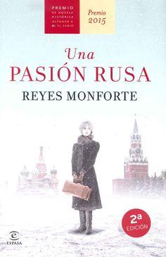 """""""Una pasión rusa"""" Reyes Monforte se ha alzado con el Premio de Novela Histórica Alfonso X El Sabio en su decimocuarta edición con su novela """"Una pasión rusa"""". Imprecedible, bellísima y dotada de un hondo sentimiento, como la música compuesta por el genial Serguéi Prokófiev, así era Lina, su musa, su amante y su esposa."""