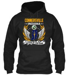 Connersville, Indiana - My Story Begins