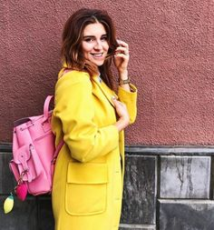 GRAFEA Pink Lemonade, Pink Leather, Leather Backpack, Backpacks, Outfits, Blog, Fashion, Pictures, Moda