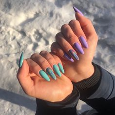 Pink Tip Nails, Gold Gel Nails, Simple Acrylic Nails, Aycrlic Nails, Best Acrylic Nails, Yellow Nails, Purple Nails, Acrylic Nail Designs, Swag Nails