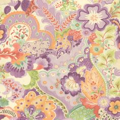 16090-13 Mimi - Boudoir Floral - Lavender chez moi