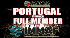 Comissão Atlética Portuguesa de MMA are now a full member federation under IMMAF. Another big step for CAPMMA.