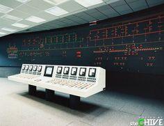 Vintage mainframe.