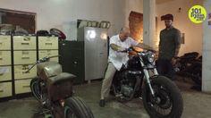 The Croatian Ambassador To India Loves Motorcycles! See His Custom Bike