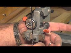 Setting up your band saw - YouTube