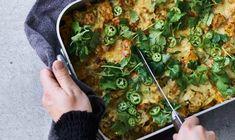Let og lækker low-carb-lasagne!