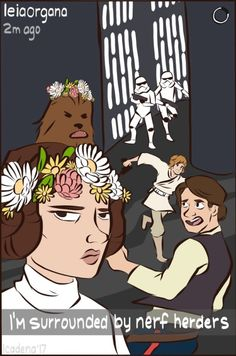 thelowlysilvan Desativado Leia puts up with so much Happy Star Wars day everyone, may the force be with you