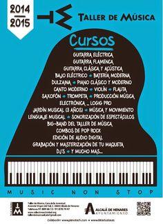 CURSOS Y FORMACIÖN PARA EL EMPLEO: Taller de Música: Cursos abiertos