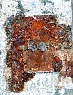 Galerie - malart-sonjas Webseite! Texture Art, Texture Painting, Collage Techniques, Grunge Art, Copper Art, Collage Art Mixed Media, My Art Studio, Encaustic Painting, New Art