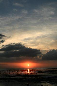 Sunset on Gili Trawangan Island