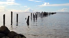 Another view of Old Jetty at Bridport.