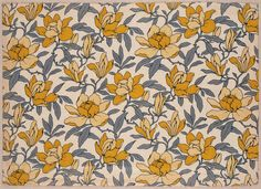 "heaveninawildflower: ""Fragment of furnishing fabric (late 19th century). Block-printed possibly by Morris & Co. Image and text courtesy MFA Boston. """
