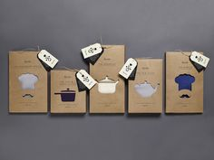 Spode Kitchen Textiles on Packaging of the World - Creative Package Design Gallery