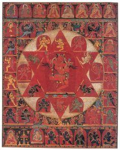 Vajravarahi Mandala, ca 1200, Central Tibet