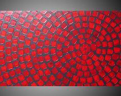 Pintura acrílica de gran tamaño arte pintura pintura pared
