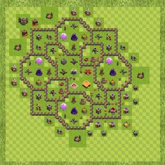 War Base Town Hall Level 9 By Emceetushar (MCT TH 9 Layout)