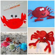 Crab Crafts for Kids to Make this Summer - Crafty Morning