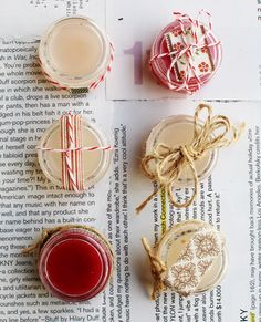 DIY - Vanilla Peppermint Lip Balm Step-by-Step Tutorial. Easy DIY.