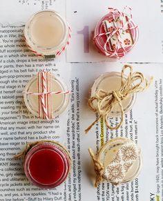 DIY - Vanilla Peppermint Lip Balm Step-by-Step Tutorial. Easy DIY.