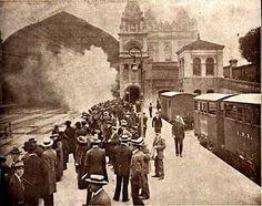 1914 - Estação da Luz.