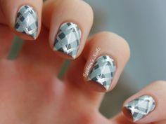 spektorsnails:    Plaid Nails
