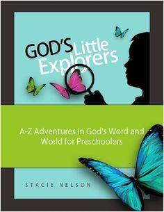 Gods Little Explorers FREE Preschool Bible Curriculum