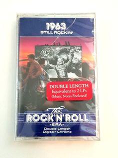 The Rock'N'Roll Era 1963 Still Rockin' Cassette Double Length Digital Chrome Rockn Roll, Music Notes, Lps, Be Still, Chrome, Digital, Ebay, Sheet Music, Song Lyrics