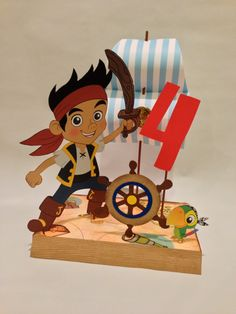 Jake and the Neverland Pirates Birthday Party by DivaDecorations, $18.00