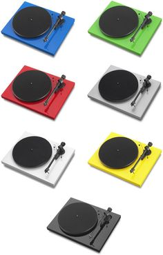 Pro-ject Debut III turntables