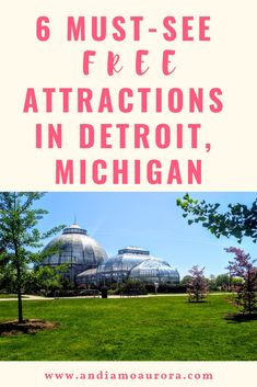 If the Motor City isn't on your radar, these 6 free attractions in Detroit are sure to open your eyes to it's unique story! Art, history, culture, and nature are all around this rust belt city. Rust Belt, Detroit Michigan, Travel Guides, Art History, Aurora, Attraction, Culture, Explore, Eyes