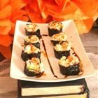 """Smoked Salmon Sushi Roll  """"A very basic and easy way to make sushi rolls, and you get to enjoy the mistakes"""""""