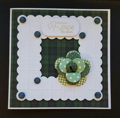 Tartan Papers by Craftwork Cards. Card made by Jane Compton