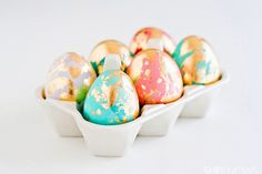 Golden eggs - 15 Easter Crafts, Activities, and Treats for Kids I Easter Ideas for Kids - ParentMap