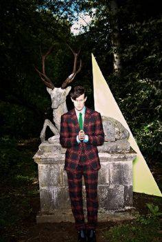 Matt Smith photographed by Tom van Schelven Esquire UK