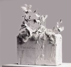 Cy Twombly (American, 1928– 2011) sculpture exhibition at the Philadelphia Museum of Art until July 1st, 2015.
