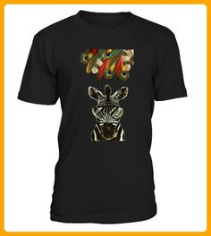 Peacock Hipster Zebra Animal Safari - Hipster shirts (*Partner-Link)