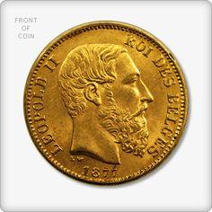 Belgian 20 Franc Gold Coin