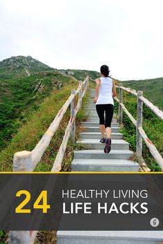 Try these healthy living hacks! #healthy #lifestyle #hacks