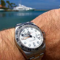 Rolex Explorer II 'polar'