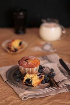 Muffins Ricotta Myrtilles … et un peu de Citron – Maryse & Cocotte