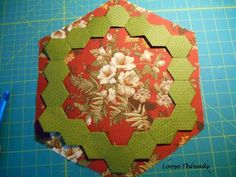 Loose Threads: Hexagons for Brinton Hall