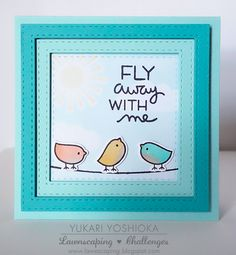"Lawnscaping Challenge: ""Fly Away with Me"" by Handmade by Yuki 