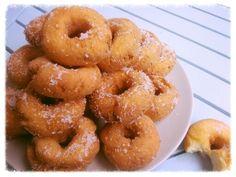 Verse zelfgemaakte glutenvrije donuts ♡