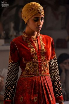 Maharaja of Madrid #Couture Collection by @JJValaya6 http://www.Valaya.com/index.htm at Aamby Valley India Fashion Week, 2013