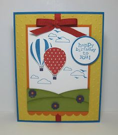 Stampin' Up! - Up, Up & Away