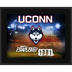 "UConn Huskies Fanatics Authentic 10.5"" x 13"" Sublimated Horizontal Team Logo Plaque"